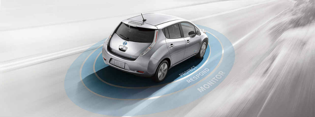 Technology Features of the 2017 Nissan Leaf Safety Shield