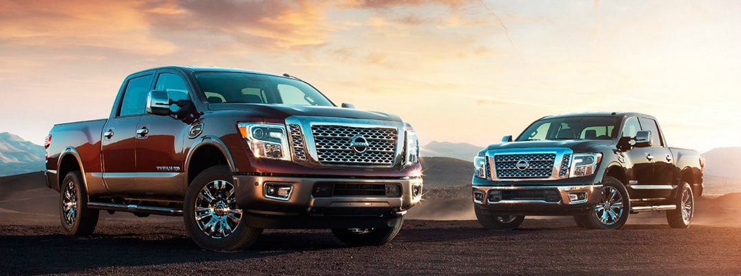 Technology Features on the 2017 Nissan Titan Exterior