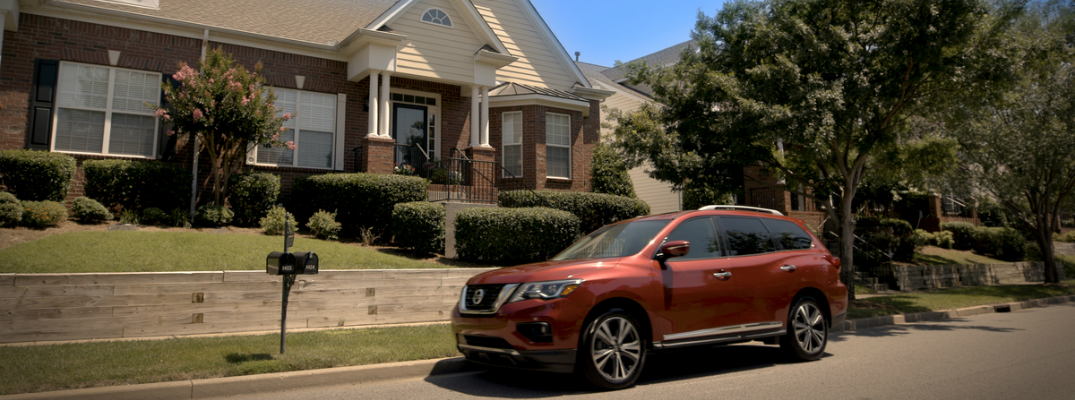 Nissan's Rear Door Alert System to be Featured on the 2018 Pathfinder Exterior