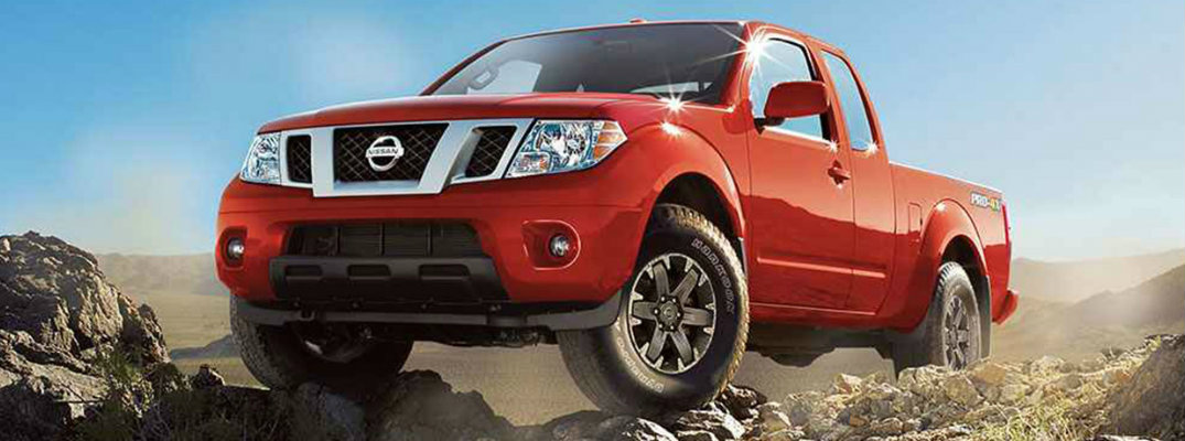 2018 Nissan Frontier engine options and performance
