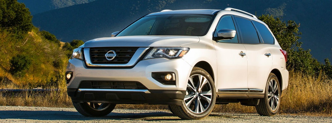 2018 Nissan Pathfinder seating capacity and cargo volume