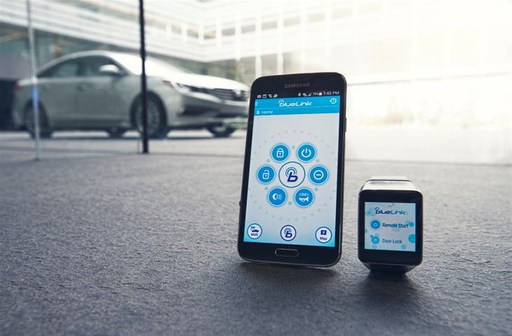 Hyundai Blue Link >> Hyundai Blue Link Smartwatch App Available For Download On