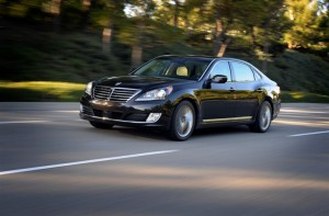 Comfort and Interface in the Hyundai Equus