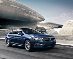 2015 Hyundai Sonata finishes in second place in its segment
