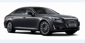 Hyundai 1 Genesis Brand Makes U.S. Debut with G90 Luxury Sedan