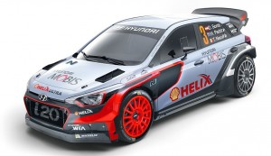 Hyundai 2 Hyundai Motorsport Debuting All-New i20 WRC Racecar at Monte-Carlo