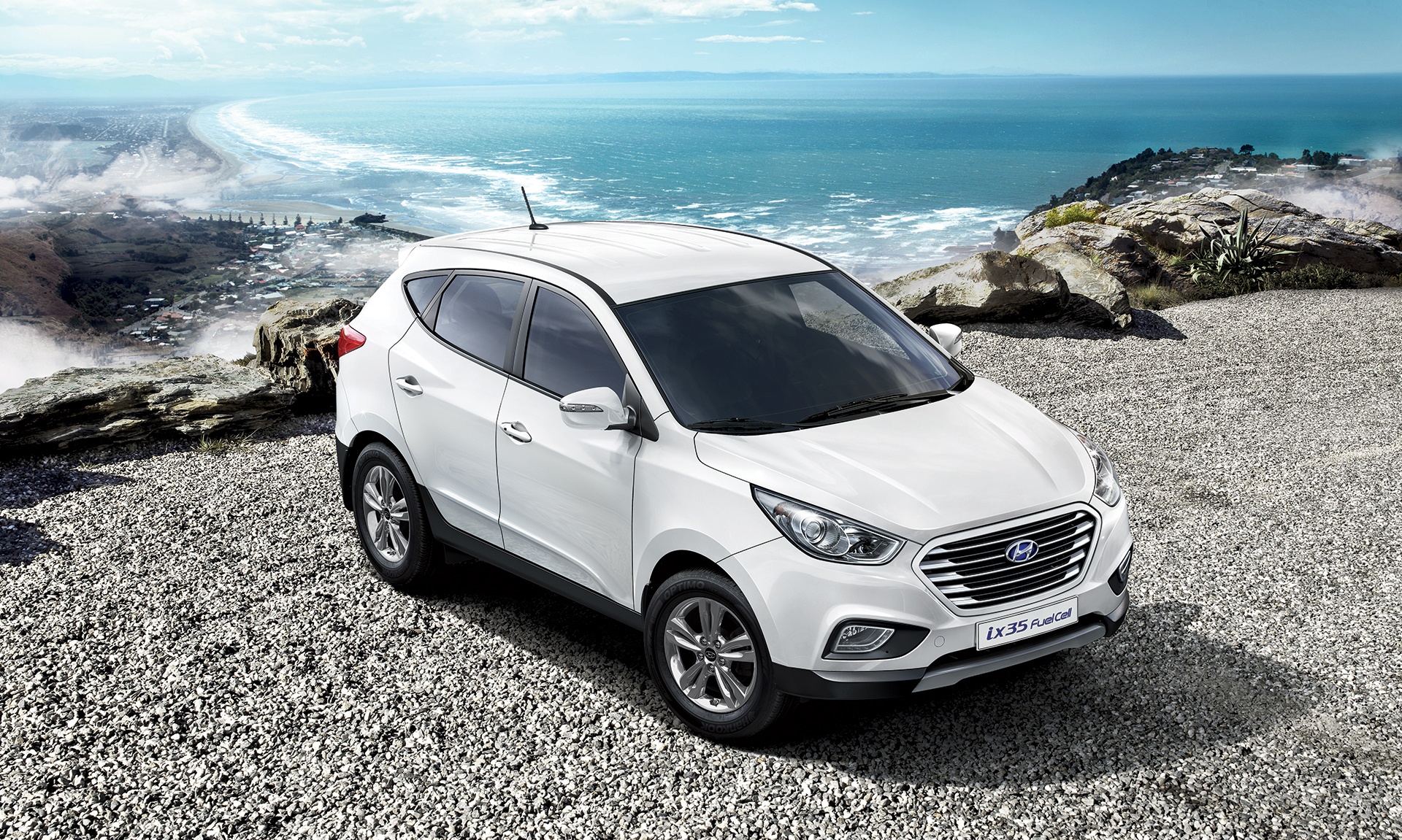 Hyundai x35 fuel cell