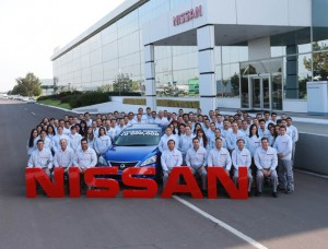 Nissan 2 10 millionth vehicle in mexico