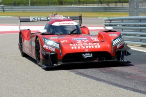 Nissan 2 LM P1 car before returning to world endurance