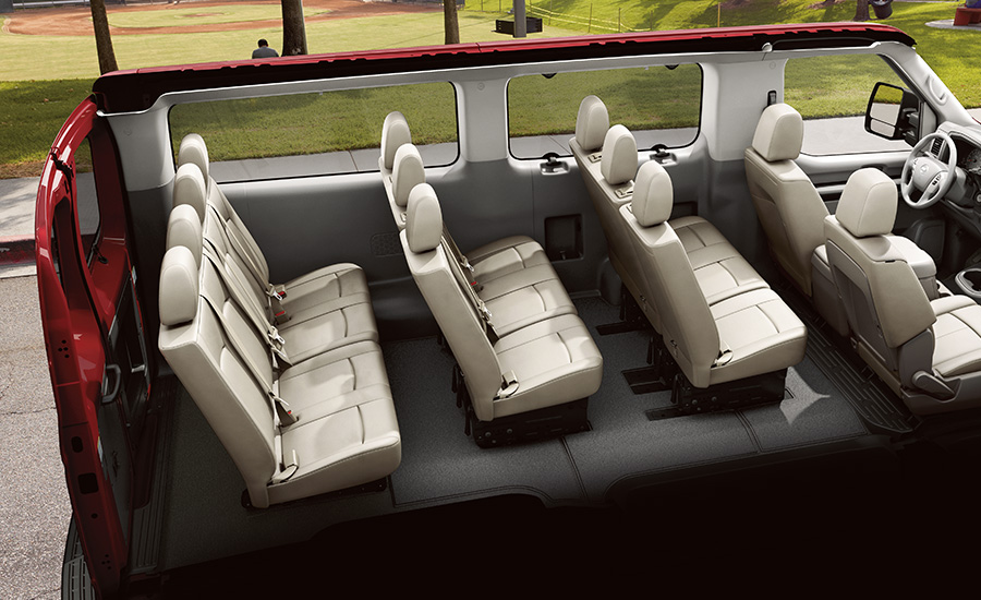 The Nissan Penger Van Can Hold Up To 12 People - Penger ...
