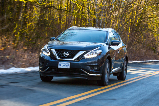 2015 nissan murano an iihs top safety pick plus. Black Bedroom Furniture Sets. Home Design Ideas