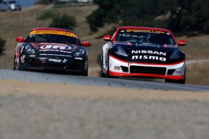 Nissan 4 win for nissan in laugna seca