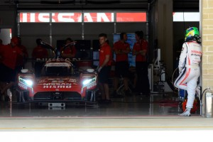 Nissan 4 LM P1 car before returning to world endurance