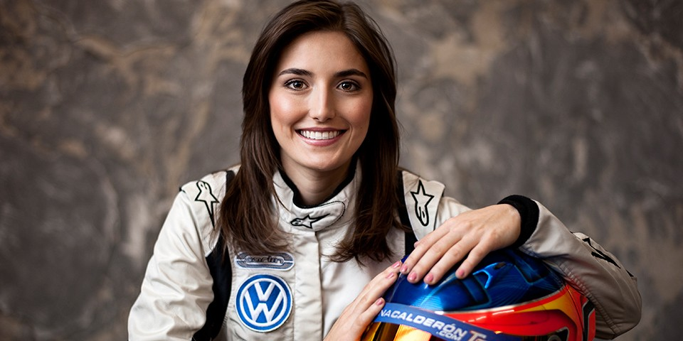 Tatiana Calderon Is Powered By Volkswagen This Year Cardinale