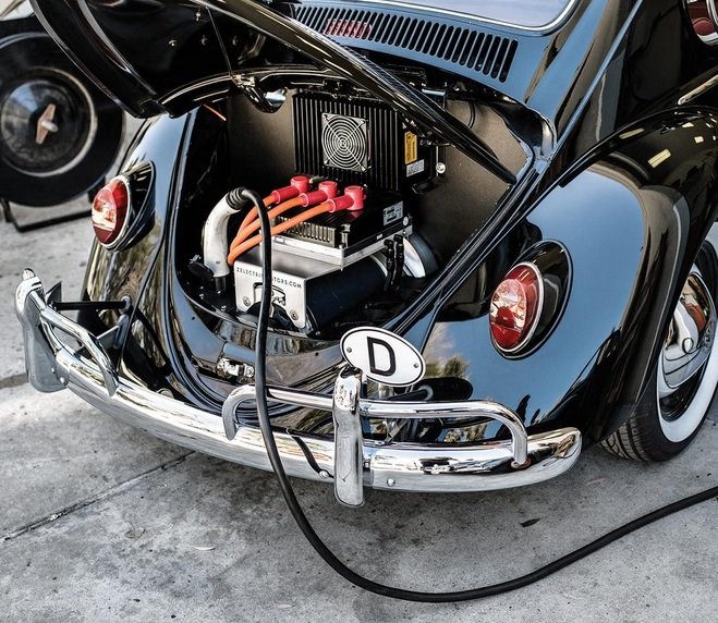 Electric Motor Kit For Volkswagen Beetle: The Volkswagen Beetle Goes Electric