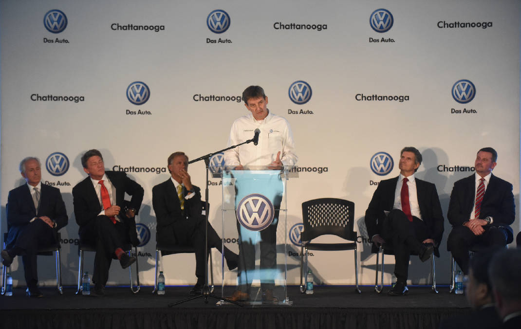 Volkswagen Chattanooga To Increase Number Of Employees By 500
