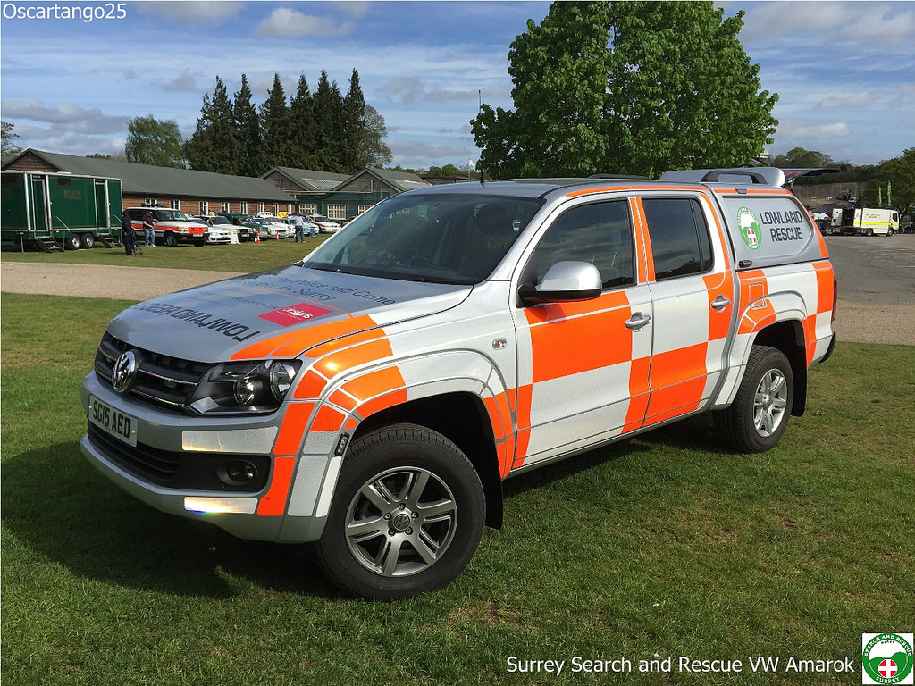 Volkswagen Amarok: The New Surrey Search & Rescue Vehicle