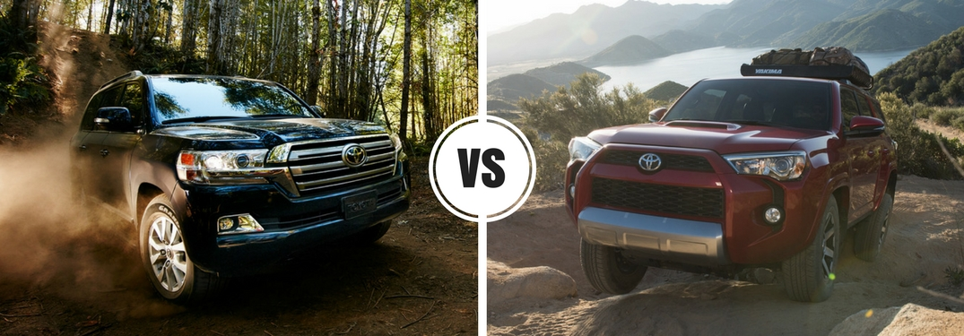 Is the Toyota Land Cruiser larger than the Toyota 4Runner