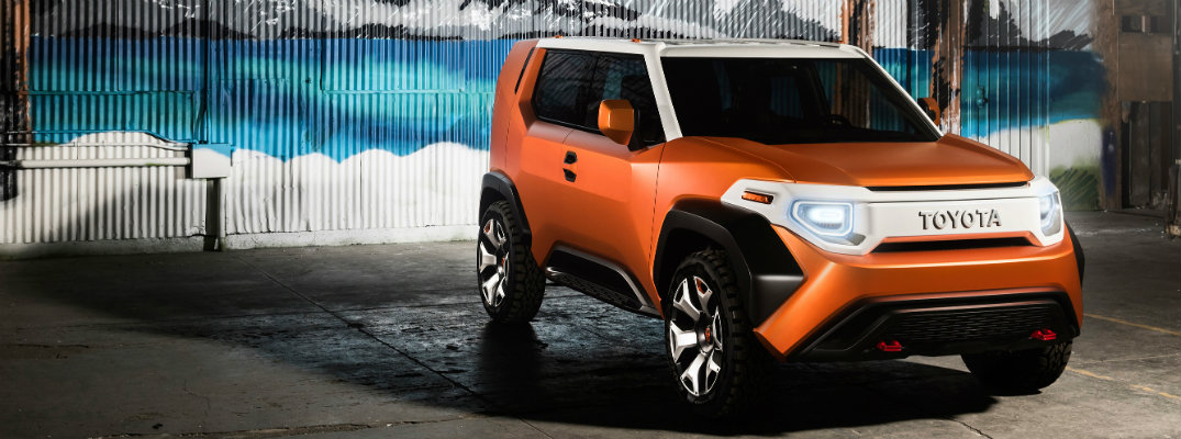 First look at the Toyota FT-4X at the New York Auto Show