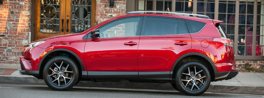 How does the Foot-Activated Power Liftgate in the Toyota RAV4 work?