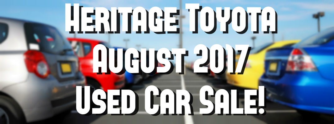 Used Car Sale August 2017 in Saint Albans