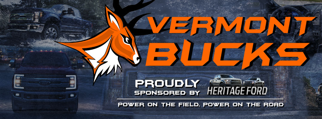 When does the Vermont Bucks play their first home game?