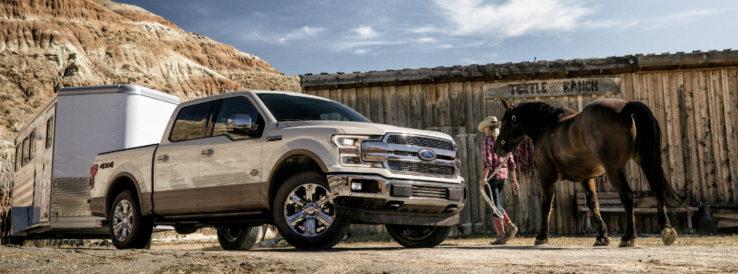 What engines are available for the 2018 Ford F-150?