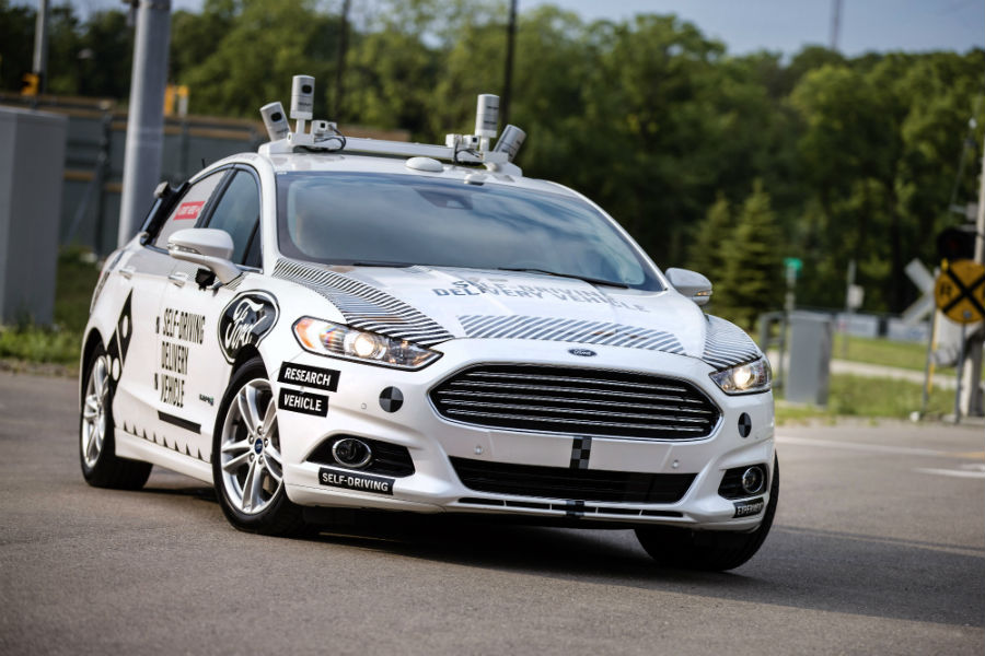 Domino's and Ford working together to make self-driving delivery cars