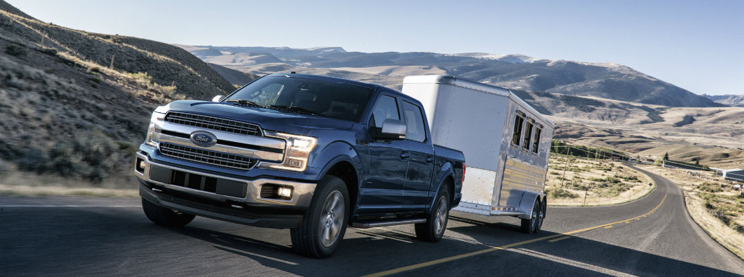 The 2018 F-150 is available at Heritage Ford & How Much Can the 2016 Ford F-150 Tow? markmcfarlin.com