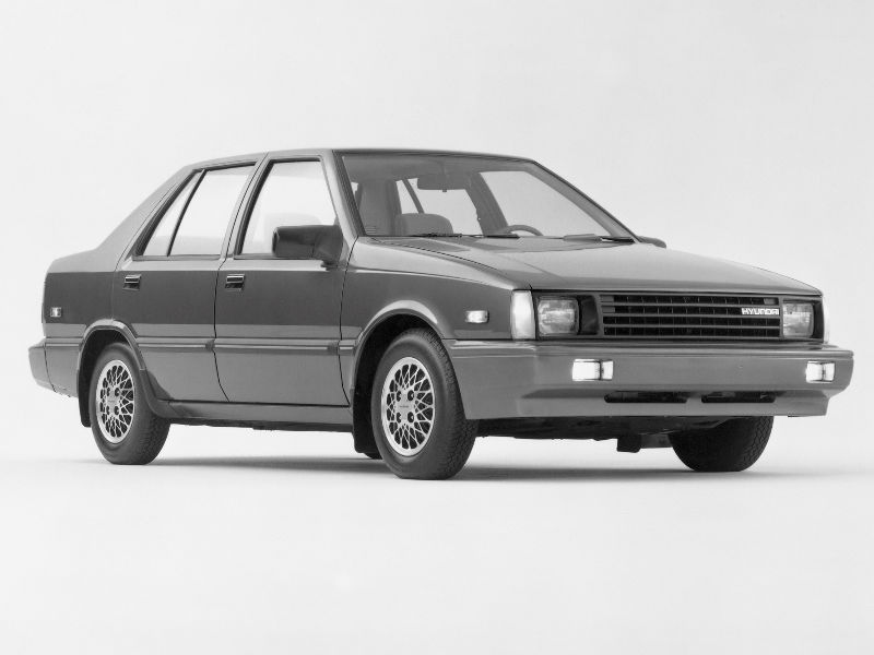 1986 hyundai excel sedan horsepower. Black Bedroom Furniture Sets. Home Design Ideas