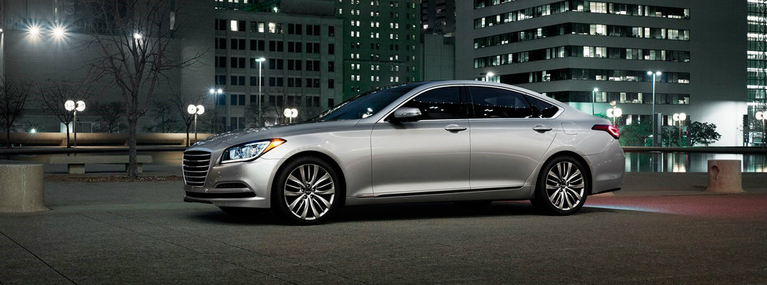 2017 Genesis G80 Color Options and Trims
