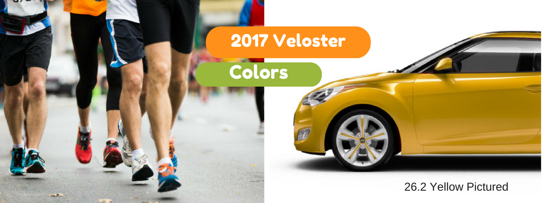 2017 Veloster Color Options and Trims