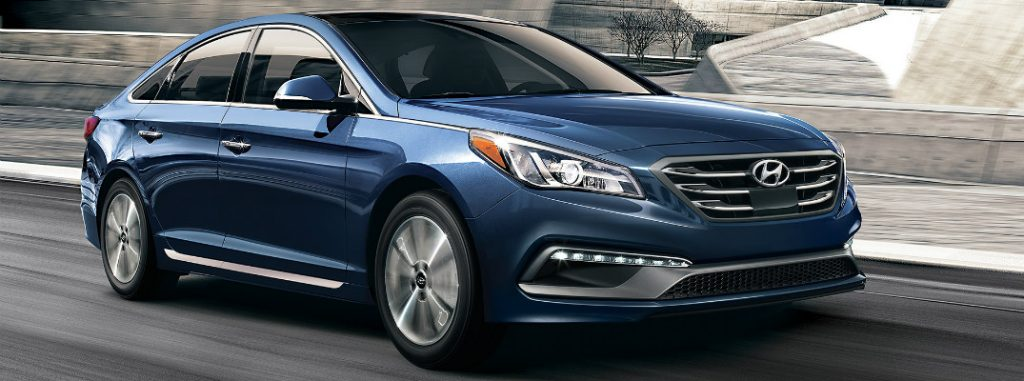 Available interior and exterior Sonata colors