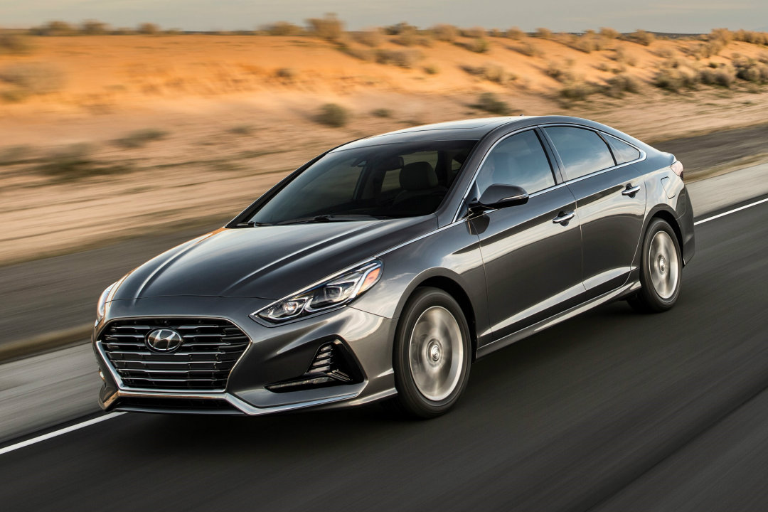 what s new for the 2018 hyundai sonata. Black Bedroom Furniture Sets. Home Design Ideas