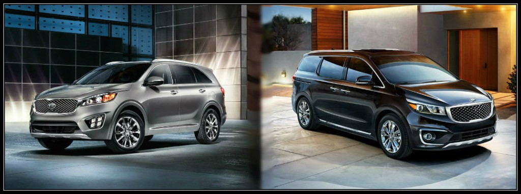 2016 kia sorento vs 2016 kia sedona. Black Bedroom Furniture Sets. Home Design Ideas