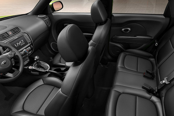 Kia Soul Interior Driver Side