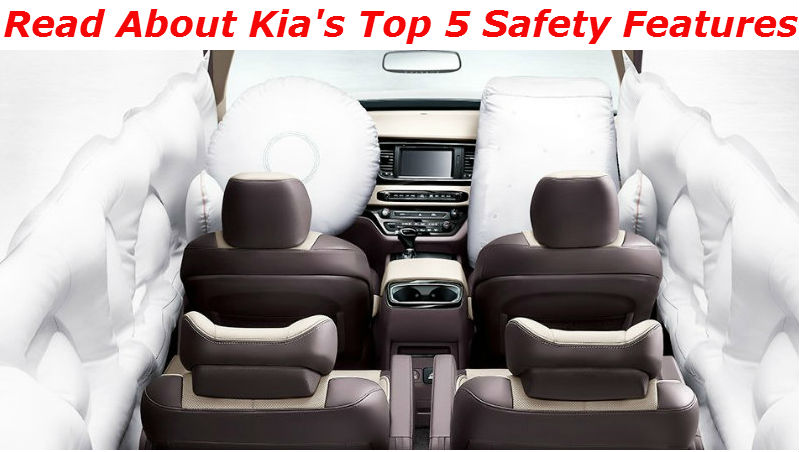 blog about Kia's 5 Safety Features