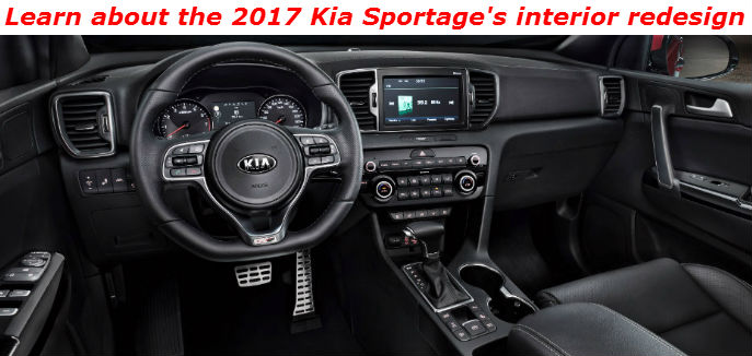 Nice ... Learn About The 2017 Kia Sportages Interior Redesign 23