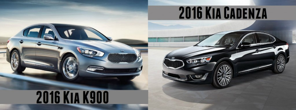 2016 kia cadenza vs 2016 the 2016 kia k900 vs 2016. Black Bedroom Furniture Sets. Home Design Ideas