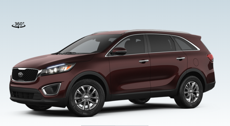 2017 Kia Sorento Features and Exterior Colors