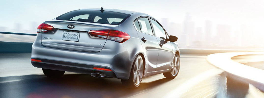 What are the differences between the 2017 Kia Forte trims?