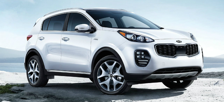 2018 Kia Sportage with AWD