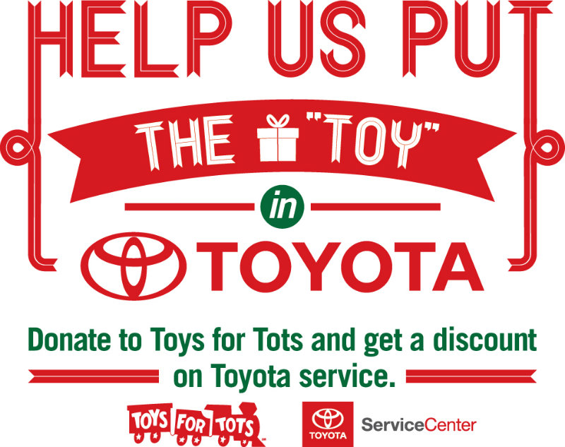 Toys For Tots Donation Site : Holiday car service specials in vacaville ca