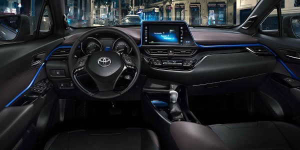 new features in the 2017 toyota c-hr