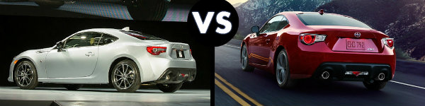 Toyota 86 vs Scion FR-S: A Visual Comparison