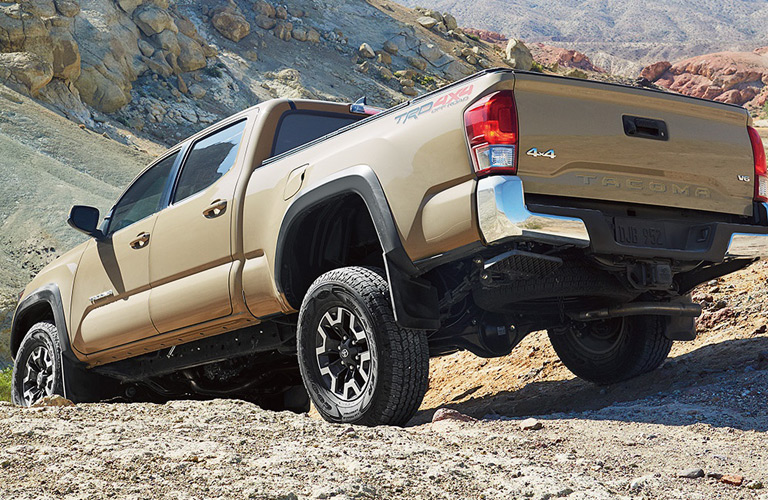 can the 2017 toyota tacoma go off road. Black Bedroom Furniture Sets. Home Design Ideas