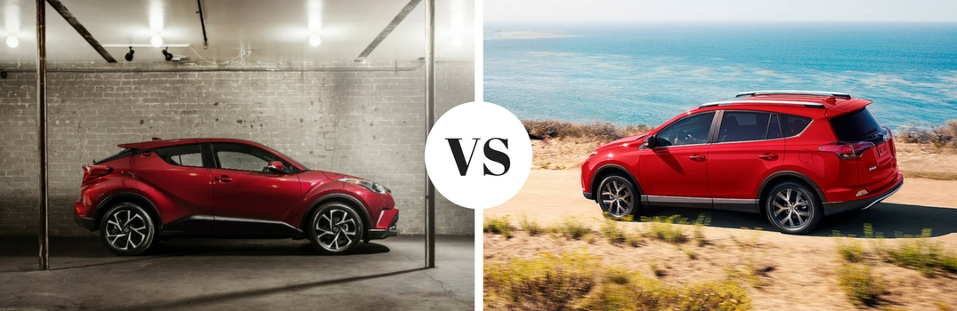 Toyota Fairfield Ca >> How does the Toyota C-HR compare to the RAV4?