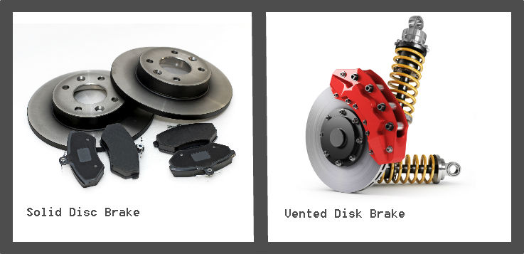 Vented vs solid disc brakes