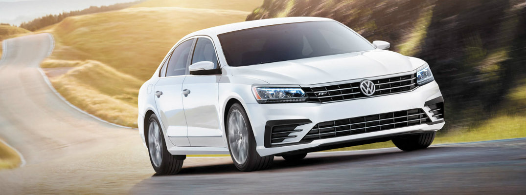 Color options and features on the 2017 Volkswagen Passat