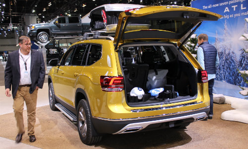 Volkswagen Atlas Gallery And Walkaround At Chicago Auto Show - Vw car show this weekend